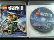 PlayStation 3 Game STAR WARS III CLONE WARS